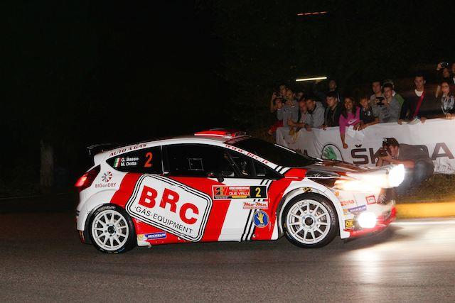 Giandomenico Basso, Mitia Dotta (Ford Fiesta R5 LDI, #2 Movisport);