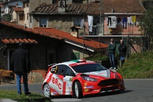 Giandomenico Basso, Mitia Dotta (Ford Fiesta R5 LDI R5 #2, Movisport)