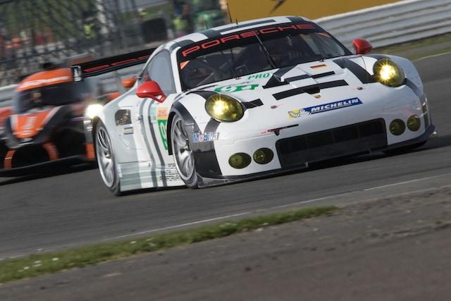 Car #91 / PORSCHE TEAM MANTHEY (DEU) / Porsche 911 RSR / Richard Lietz (AUT) / Michael Christensen (DNK) - FIA WEC 6 hours of  Silverstone at Northamptonshire - Towcester - United Kingdom