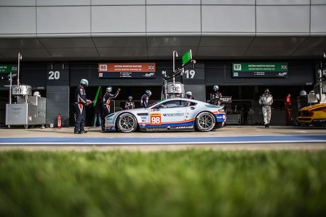 Car #98 / ASTON MARTIN RACING (GBR) / Aston Martin Vantage V8 / Paul Dalla Lana (CAN) / Pedro Lamy (PRT) / Mathias Lauda (AUT) - FIA WEC 6 hours of Silverstone at Northamptonshire - Towcester - United Kingdom
