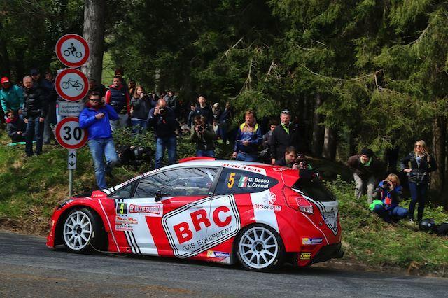Giandomenico Basso, Lorenzo Granai (Ford Fiesta R5 LDI R5 #5, Movisport)
