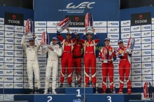 Podium, LMGTE PRO - FIA WEC 6 hours of Silverstone at Northamptonshire - Towcester - United Kingdom