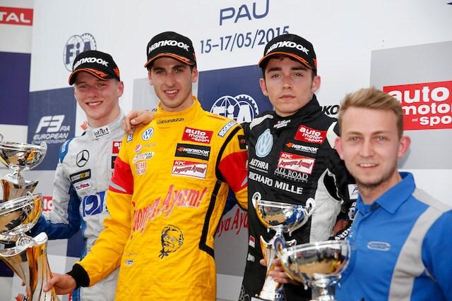 FIA Formula 3 European Championship, round 3, race 3, Pau (FRA)