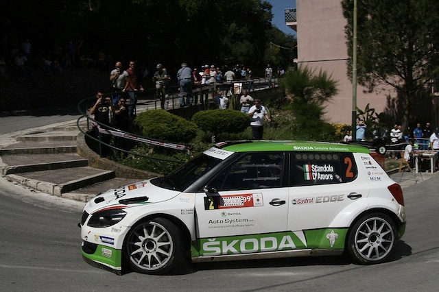 Umberto Scandola, Guido Damore (Skoda Fabia S2000 #2, Car Racing)