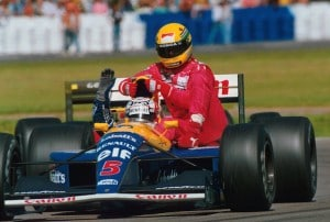 Formula One Championship, Rd 8, British Grand Prix, Silverstone, England, 14 July 1991.