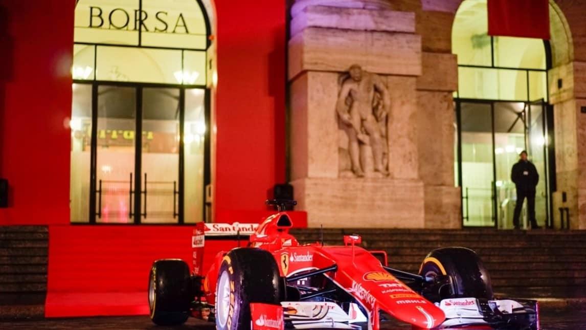 5a88c23964 Ferrari debutta in Borsa, le Rosse a Piazza Affari - Autosprint