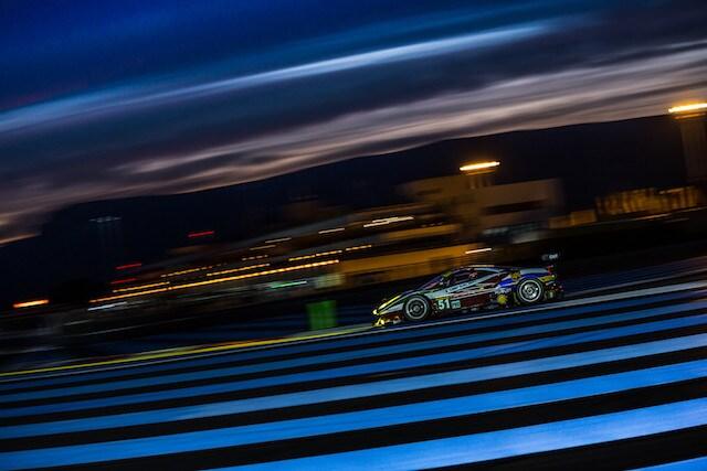 Car #51 / AF CORSE / ITA / Ferrari 488 GTE / Gianmaria Bruni (ITA) / James Calado (GBR) - WEC Prologue at Circuit Paul Ricard - Le Castellet - France  -