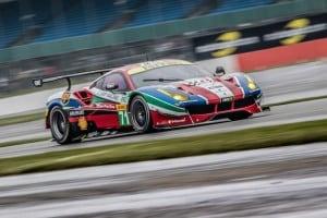 Car # 71 / AF CORSE / ITA / Ferrari 488 GTE / Davide Rigon (ITA) / Sam Bird (GBR) - WEC 6 Hours of Silverstone - Silverstone Circuit - Towcester, Northamptonshire - UK