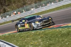 Car # 98 / ASTON MARTIN RACING / GBR / Aston Martin V8 Vantage / Paul Dalla Lana (CAN) / Pedro Lamy (PRT) / Mathias Lauda (AUT) - WEC 6 Hours of Spa - Circuit de Spa-Francorchamps - Spa - Belgium