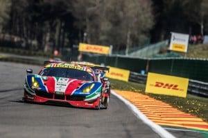 Car # 51 / AF CORSE / ITA / Ferrari 488 GTE / Gianmaria Bruni (ITA) / James Calado (GBR) - WEC 6 Hours of Spa - Circuit de Spa-Francorchamps - Spa - Belgium