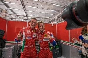Car # 71 / AF CORSE / ITA / Ferrari 488 GTE / Davide Rigon (ITA) / Sam Bird (GBR) - WEC 6 Hours of Spa - Circuit de Spa-Francorchamps - Spa - Belgium