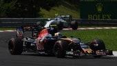 F1 Ungheria: Sainz soddisfatto, Kvyat deluso