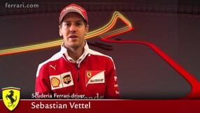 Vettel alla prima in casa con la Ferrari