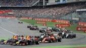 F1 Germania, qualifiche e gara in diretta tv