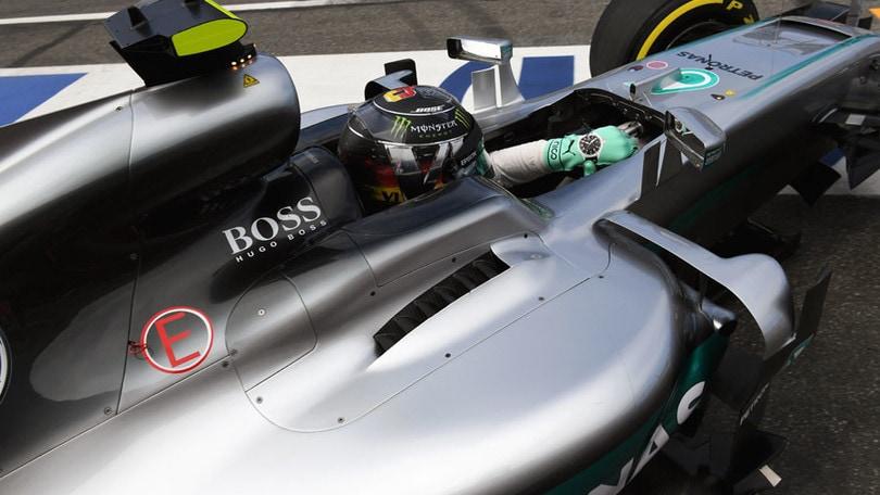F1 Germania, Rosberg leader nelle libere 2: foto