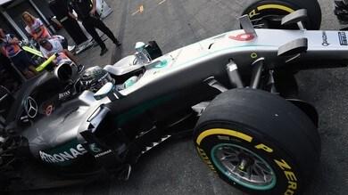 F1 Germania: ripetizione Rosberg Hamilton Vettel in FP2