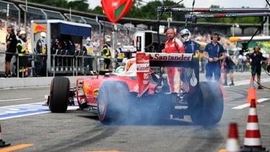 """F1 Germania, Vettel nel traffico delle FP2: """"Ma siamo qui per vincere"""""""