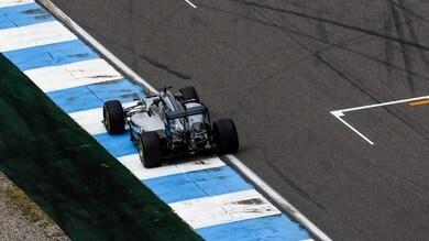 """F1 Germania, Hamilton aggressivo e fiducioso: """"Un venerdì tranquillo"""""""