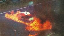 Niki Lauda, il rogo del Nurburgring: foto