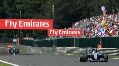 """F1 Spa, Hamilton: """"Rigenerato, ho una fiducia enorme"""""""