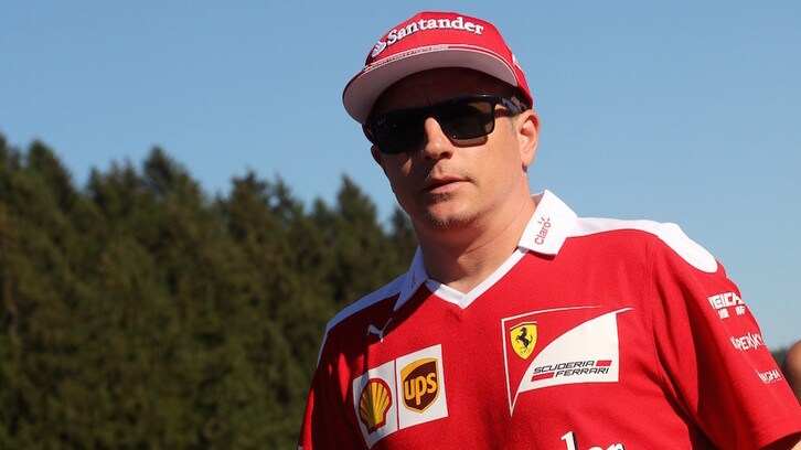 F1 Spa, Raikkonen: