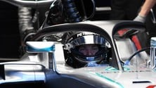 Formula 1 Spa, Mercedes e Red Bull con l'Halo: foto