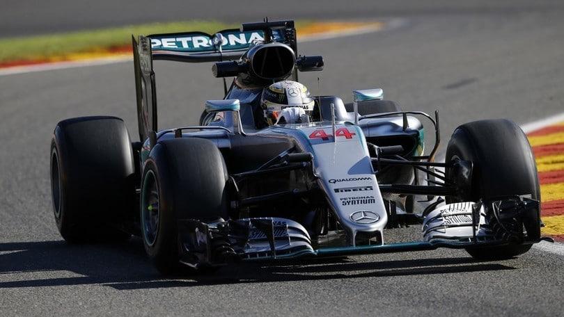 Formula 1 Spa, Rosberg velocissimo nelle FP1: foto