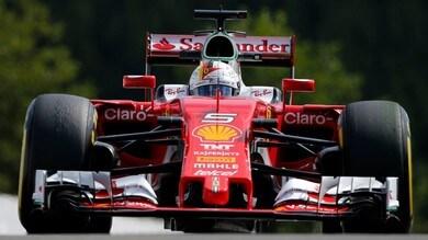 Formula 1 Spa, le Ferrari soffrono il caldo nelle libere
