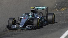 F1 Spa: Rosberg in pole, lo affianca Verstappen
