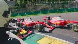 F1 Spa, carambola in partenza: di chi è la colpa?