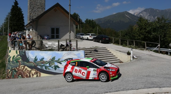 CIR,Basso trionfa al Rally del Friuli e vola in testa al Tricolore