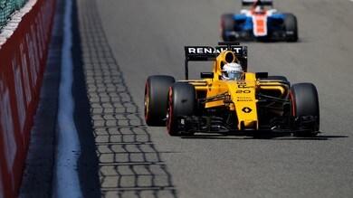"F1 Spa, Magnussen: ""Dolorante ma correrò a Monza"""