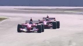 Le Ferrari delle leggende in pista ad Hockenheim