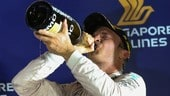 Formula 1 Singapore, Rosberg scommette e sbanca