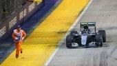 F1 Singapore, commissario in pista: la FIA indaga
