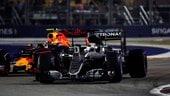 Radiosprint Singapore, il varano di Verstappen e il sarcasmo di Kimi