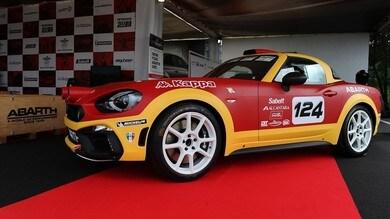 Abarth 124 Rally, trofeo nel Campionato Italiano Rally 2017