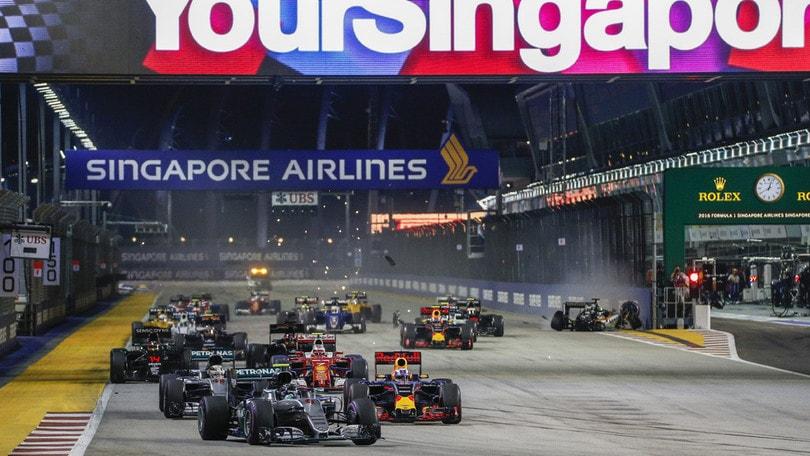 F1 in 4K, a Singapore la prima prova di trasmissione in diretta