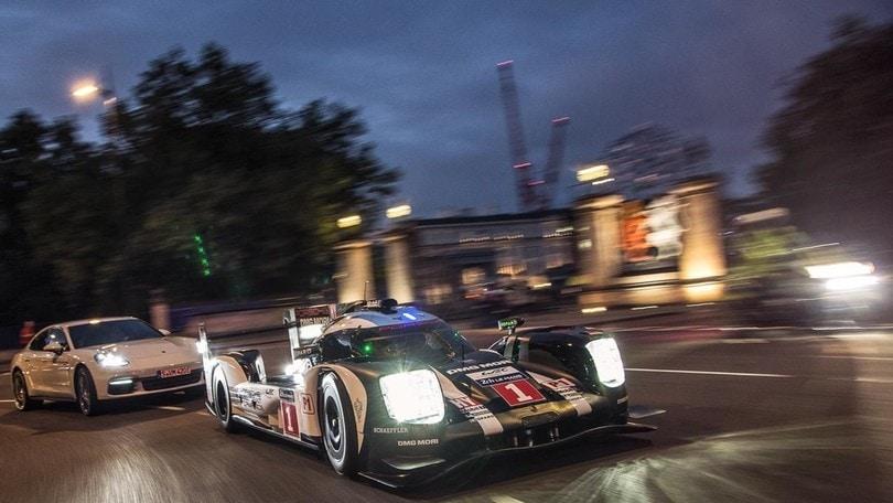 WEC, Webber porta la 919 Hybrid nel cuore di Londra: foto