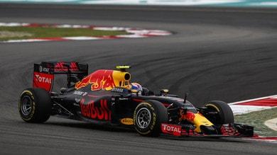 Formula 1 Malesia, Red Bull: ottimo essere davanti alle Ferrari