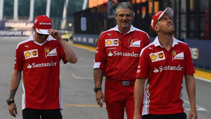 Ferrari, disastro Vettel Hamilton out e rabbia Rosberg da Mondiale