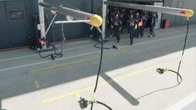 Red Bull Racing, l'arte del pit stop