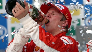 21 ottobre 2007, Kimi vince l'ultimo mondiale Ferrari