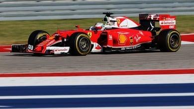 "Formula 1 USA, Raikkonen: ""Un venerdì difficile"""