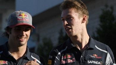 F1: Kvyat, un altro anno da Toro Rosso