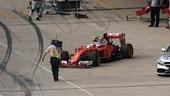 Formula 1 USA, Raikkonen si ritira e la Ferrari viene multata
