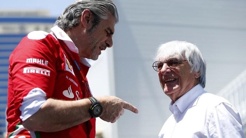 F1, Ecclestone sulla Ferrari: