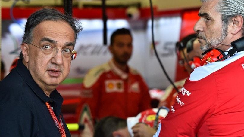 F1 2017, Ferrari: c'è già aria di pessimismo e Marchionne libera Vettel