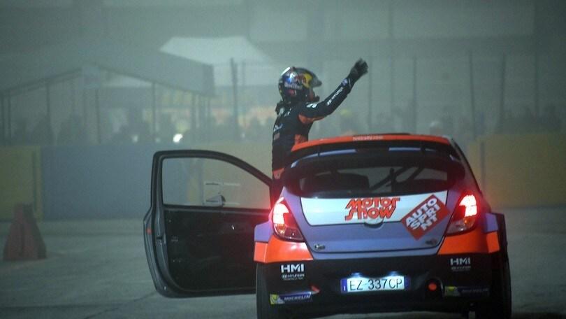 Motor Show di Bologna, buona prova di Silvestri del Casarano Rally Team