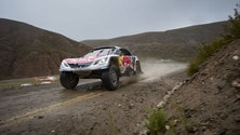 Dakar stage 5, seconda zampata di Loeb, Peterhansel leader
